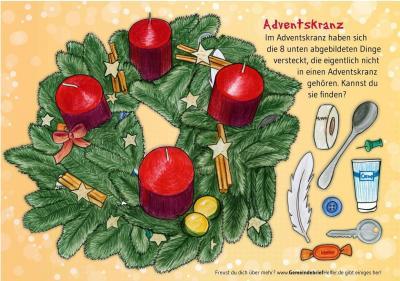 Foto zur Meldung: Kinderseite zur Adventszeit