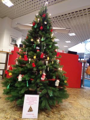 Foto vom Album: Weihnachtsdeko Sparkasse Crivitz
