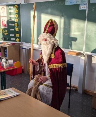 Foto zur Meldung: Alle Jahre wieder... kommt der Nikolaus!