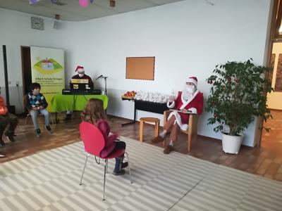 Nikolausfeier unter Corona-Bedingungen