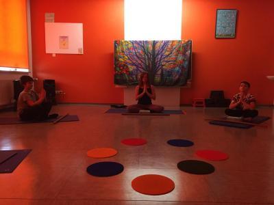 Foto Yoga-Raum