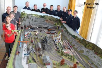 Foto zur Meldung: Spendenaufruf des Modelleisenbahnclub Gräfenroda e. V.: Wir bitten um Ihre Unterstützung
