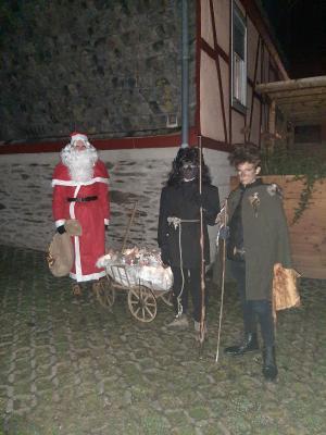 Wer hat den Nikolaus gesehen?