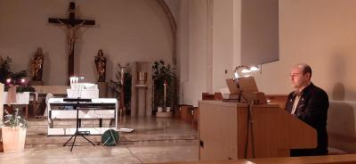 Foto zur Meldung: Weihnachtskonzert in der katholischen Pfarrkirche am 06.12.2020