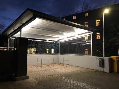 Bad Boll hat ein Radparkhaus