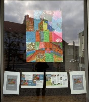 Kinder- und Jugendkunst im Schaufenster