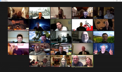 Vorschaubild zur Meldung: Virtuelle Weihnachtsfeier der Löschgruppe