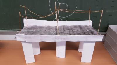 """Foto zur Meldung: Projekt """"Brücken bauen"""" - Klasse 4a"""