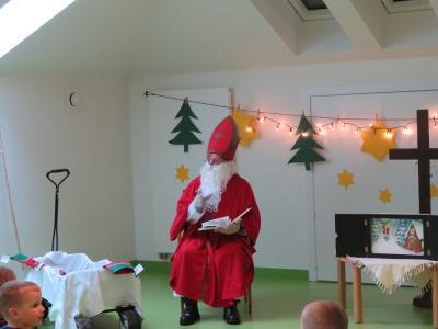 Nikolausbesuch im Kinderland