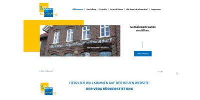 Vorschaubild der Meldung: Unsere neue Homepage ist online!
