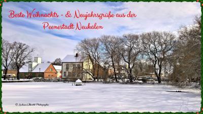 Foto zur Meldung: Beste Weihnachts- & Neujahrsgrüße 2021.