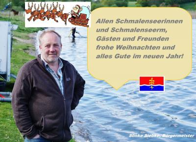 Weihnachtsgruß Bürgermeister Sönke Siebke
