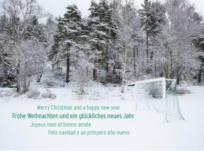Foto zur Meldung: Frohe Weihnachten und einen guten Start ins Jahr 2021