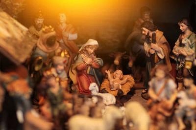 Foto zur Meldung: Weihnachtsgottesdienst aus der Kreuzkirche 2020