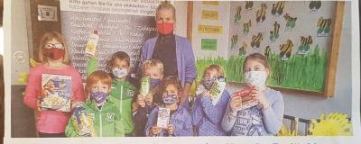 Grundschule Krugzell spendet für die Tafel