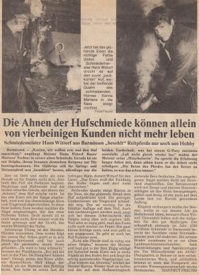 Foto zur Meldung: Alte Schmiede Barmissen