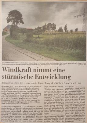 Windkraft in Barmissen?