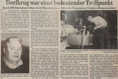 Foto zur Meldung: Günther Repenning ist seit 15 Jahren Bürgermeister