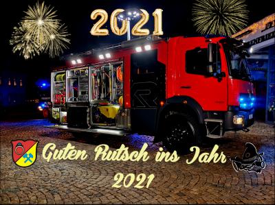 Neujahrswünsche für 2021