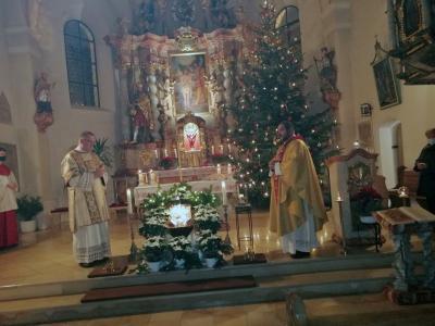 Vorschaubild zur Meldung: Christmetten am Abend in Moosbach und in Prackenbach am 24.12.2020