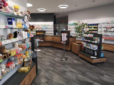 Die neu eröffnete Burgen-Apotheke in Kranichfeld