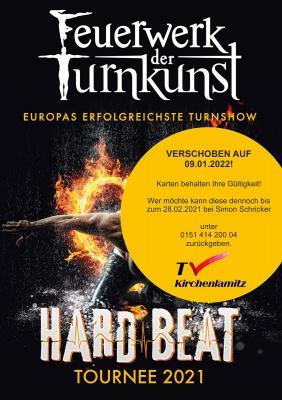 Info für alle Kartenbesitzer der Fahrt zum Feuerwerk der Turnkunst beim Turnverein Kirchenlamitz!