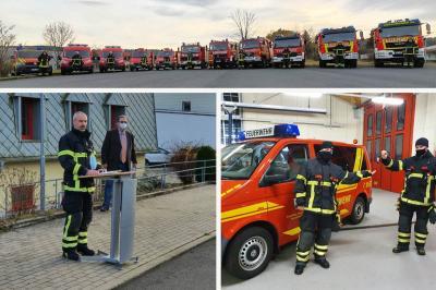 """Foto zur Meldung: Feuerwehr Geratal mit neuer """"alter"""" Führung"""