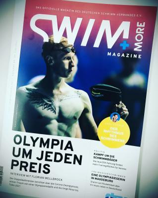 48 Seiten Schwimmsport - die neue Swim&More ist da!