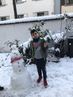Lernen daheim #39: Schneemann-Challenge