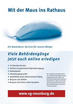 Foto zur Meldung: Rathaus Service-Portal - Mit der Maus ins Rathaus