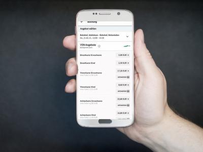 Bild der Meldung: Ab sofort: VSN-Tickets auf dem Smartphone kaufen