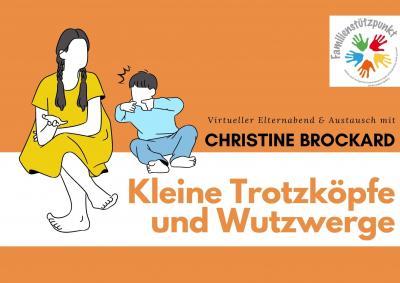 Virtueller Elternabend mit Christine Brockard