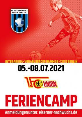 INTER-UNION-Feriencamp in der 2. Sommerferienwoche