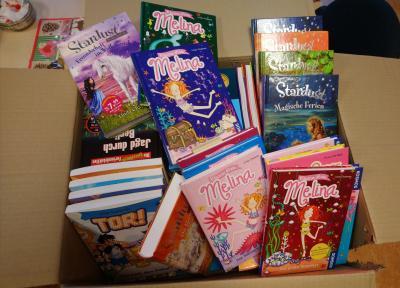 Neue Bücher für die Bücherei