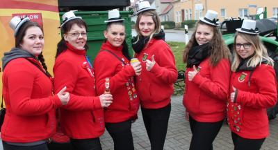 Foto zu Meldung: Gielower Jecken feiern Rosenmontag  auf einer Videokonferenz