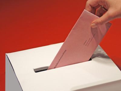 Wahlscheinantrag per Internet
