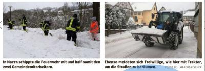 Foto zur Meldung: Schneechaos - nicht mit uns!
