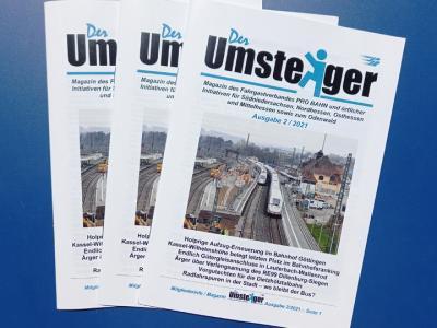"""Neue Ausgabe der Zeitschrift """"Umsteiger"""" ist erschienen"""
