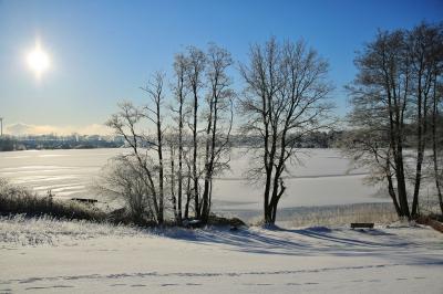 Foto zur Meldung: Rückblick auf ein faszinierendes Winterwochenende in Schmalensee