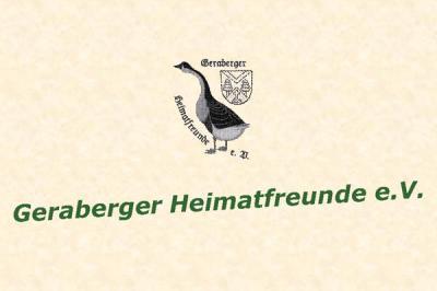 Foto zur Meldung: Aus der Arbeit der Geraberger Heimatfreunde