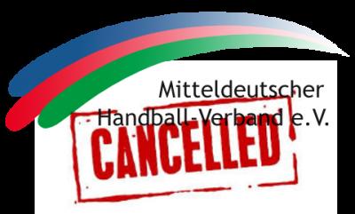 Mitteldeutscher HV bricht laufende Saison ab