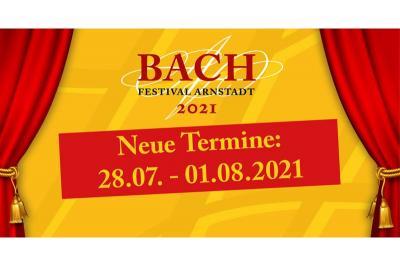 Das Bach-Festival-Arnstadt wird verschoben!