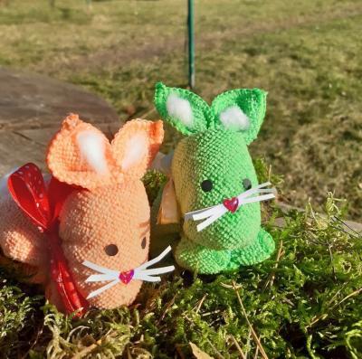Foto zur Meldung: Die Osterhasen sind los!