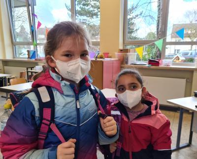 Foto zur Meldung: Ffp2-Masken für Kinder