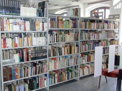 Bibliothek bis auf Weiteres geschlossen.