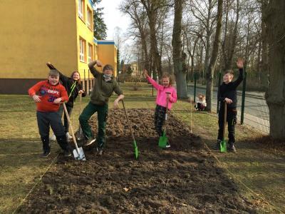 Frühlingsprojekt an der Elbtalgrundschule