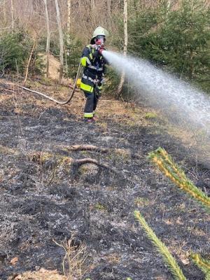 Foto zur Meldung: Feuerwehr Rosenheim ganztägig im ehrenamtlichen Einsatz
