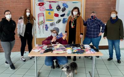 Evangelische Gemeinde Meiderich sammelt Stoffmasken für unseren guten Zweck