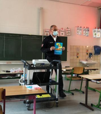Foto zur Meldung: Kelly Projekt in den zweiten Klassen