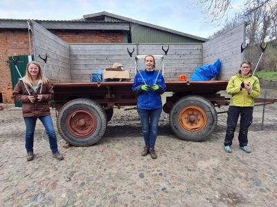 Foto zur Meldung: Dorfputz ist trotz Coronavirus möglich – alle können am Samstag mitmachen